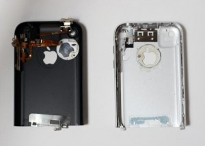 iPhone enclosure parts