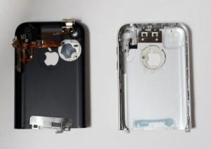 iPhone enclosure parts