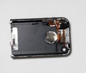 New iPhone rear enclosure