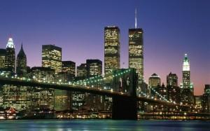 WTC with Brooklyn bridge