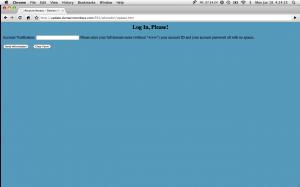 DomainMonkeys.com Login page