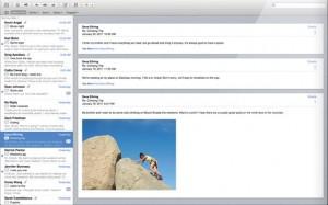 Apple Mail 5 Conversations