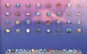 Mac OS X Lion Launchpad