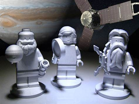 Lego Space Crew