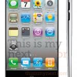 iPhone 5 teardrop