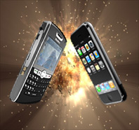 iPhone vs Blackberry