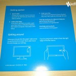 Windows 8 Pro welcome card