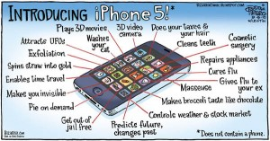 iPhone 5 comic