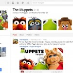 Muppets Google+ page